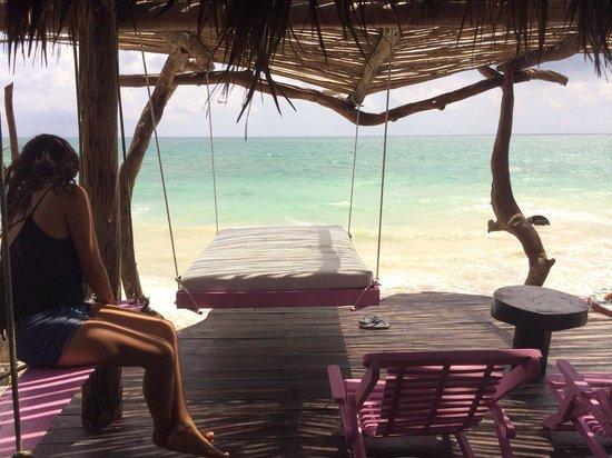 Azulik: Amazing outside sea view