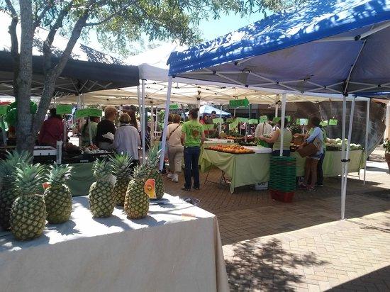Sarasota Farmers Market: Yummie Pineapples!