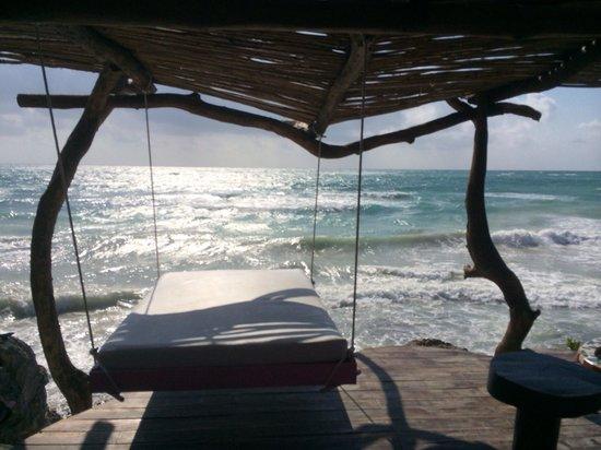 Azulik: Sea view