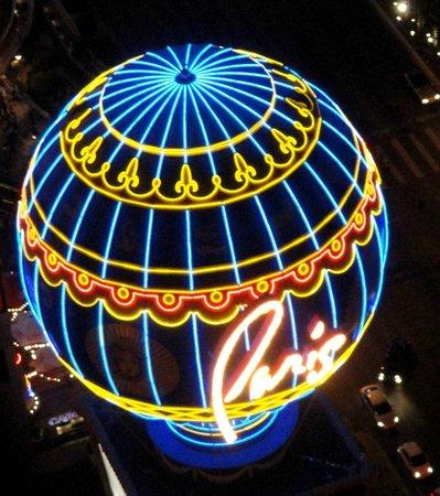 Eiffel Tower Experience at Paris Las Vegas: Paris Balloon from the Eiffel Tower