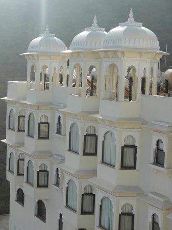 Bhairav Garh Palace : Hotel View