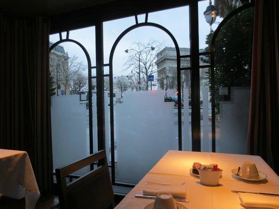 Splendid Etoile Hotel : View from the hotel restaurant