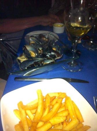 Bistro Soleiado : Les Moules Frites