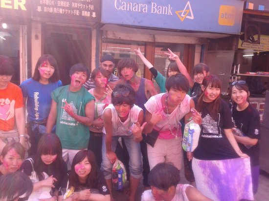 Indo Tours & Travels: Holi Festival (Japanese Student Group)