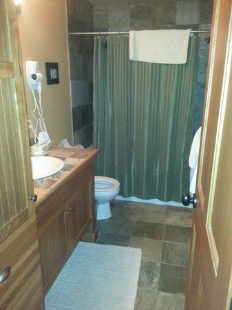 Copper Kettle Lodge: main bathroom