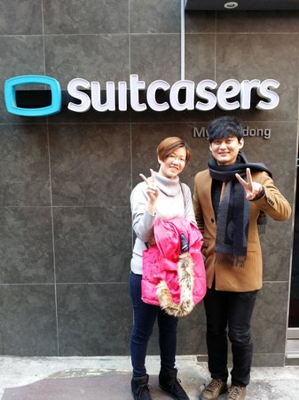 Suitcasers: Sam & my wife