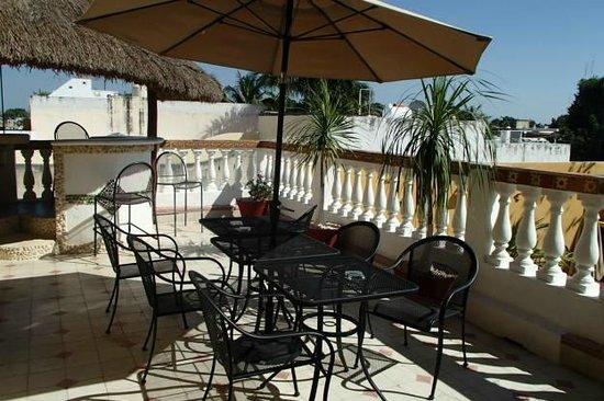 Hotel del Peregrino : Third Level Courtyard