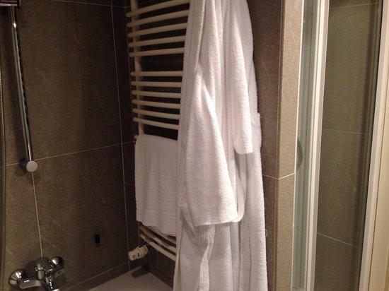 Viest Hotel : Doccia e vasca