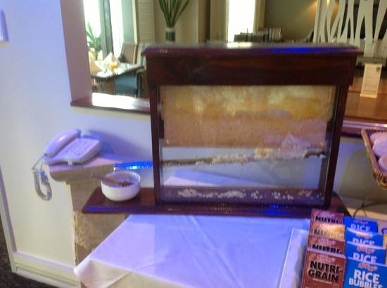 Watermark Hotel & Spa Gold Coast : Fresh honey for breakfast