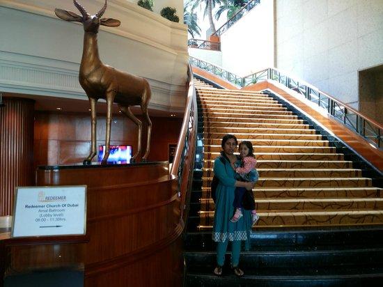 JW Marriott Hotel Dubai : Hotel lobby