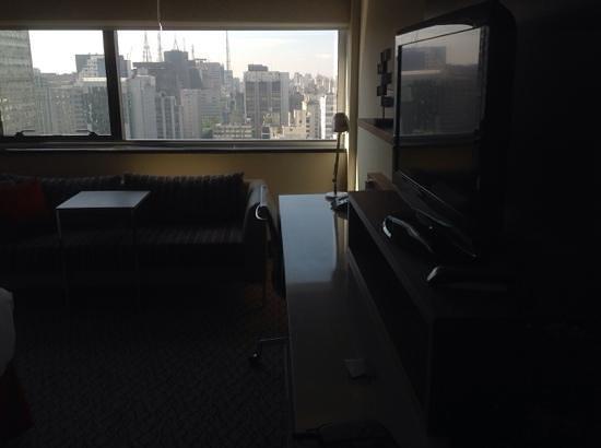Renaissance Sao Paulo Hotel : ventana panoramica