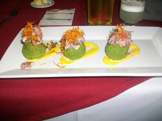 Casa Belga Restaurante: een voorgerecht van de dagschotels