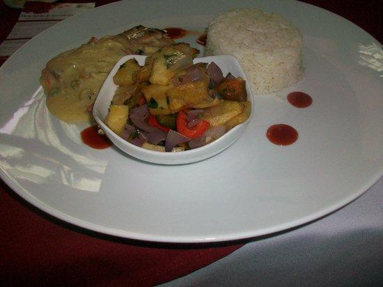 Casa Belga Restaurante: dagmenu