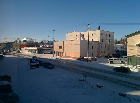 Days Inn & Suites Yellowknife: View outside window