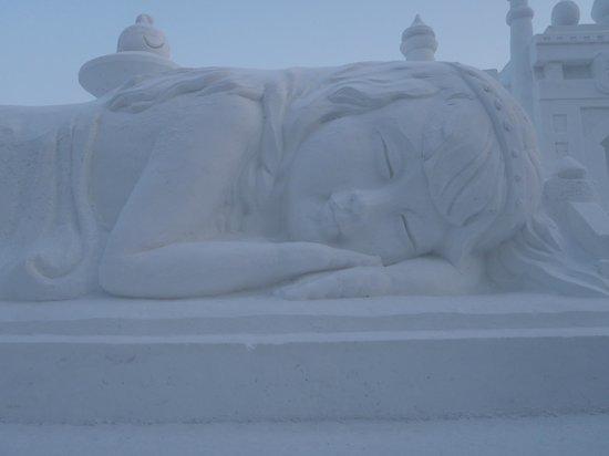 Harbin Snow Fair : snow sculpture