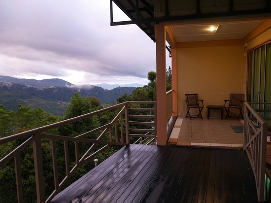 Celyn Resort Kinabalu: Outside View of my room