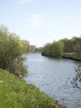 Semmerzake, Belgien: The river Schelde