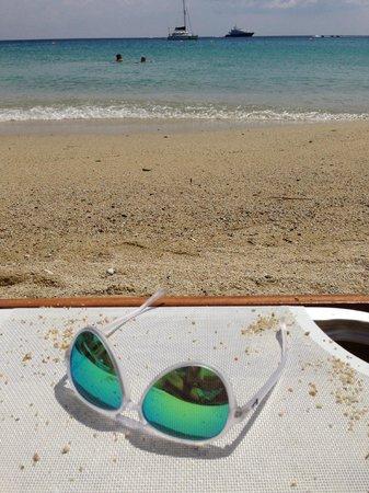 Hotel Lady Anna : Παραλία στον Πλατύ Γυαλό