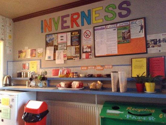 Inverness Student Hotel: breakfast £2