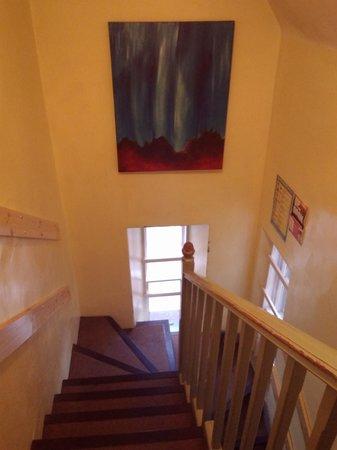 Inverness Student Hotel: stairway
