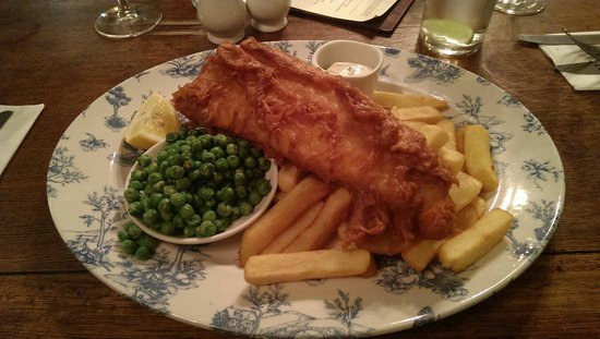 Himley House Good Night Inn Hotel : Excellent Fish and chips
