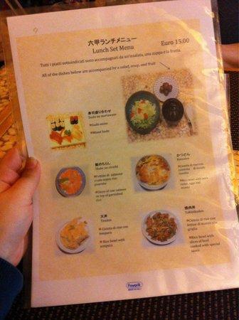 Men per il pranzo prima parte foto di rokko - Menu per ospiti a pranzo ...