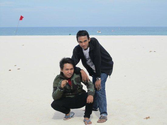 Bintan Lagoon Resort: bibir pantai