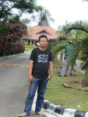 Bintan Lagoon Resort: view gedung utama