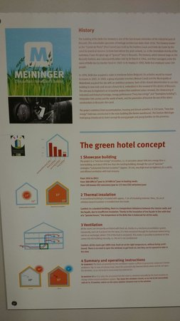 MEININGER Hotel Brussels City Center: Green hotel