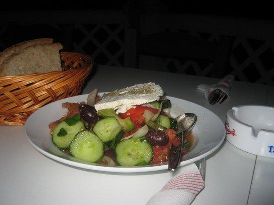 Fokea Beach: insalata greca originale
