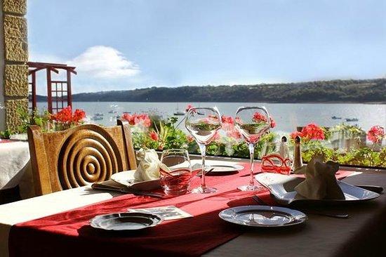 Hostellerie De La Mer: Vue du Restaurant