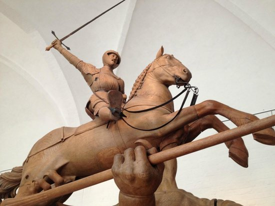 Musée national : Statua di San Giorgio