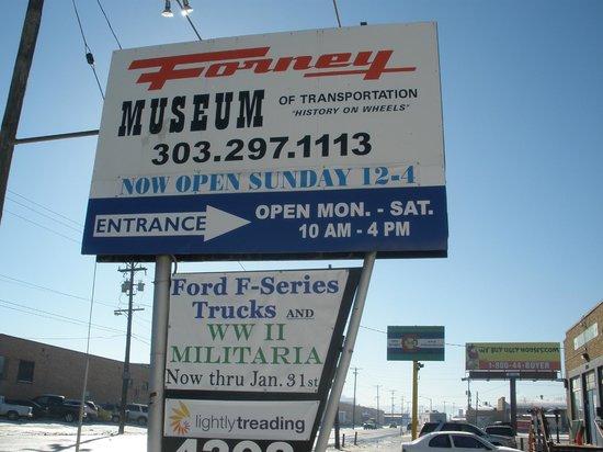 Forney Museum of Transportation : Forney TM