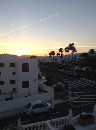Hotel Lanza Teneguia: view towards mountains