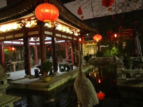Tang Dynasty Art Garden Hotel: дворик отеля