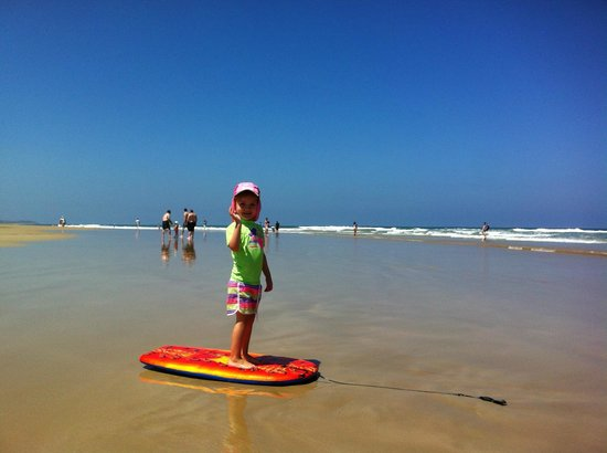 BIG4 Anglesea Holiday Park: A short drive to the beach (5 mins)