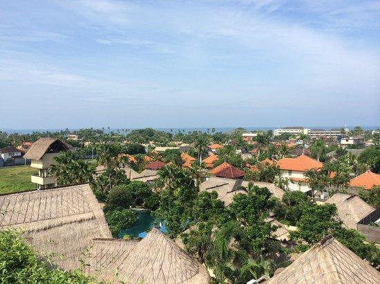 U Paasha Seminyak: View from our balcony