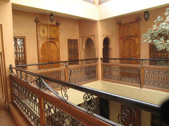Riad Dar Othmane: à l'étage