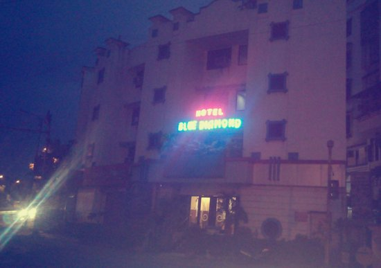 Hotel Blue Diamond : night view