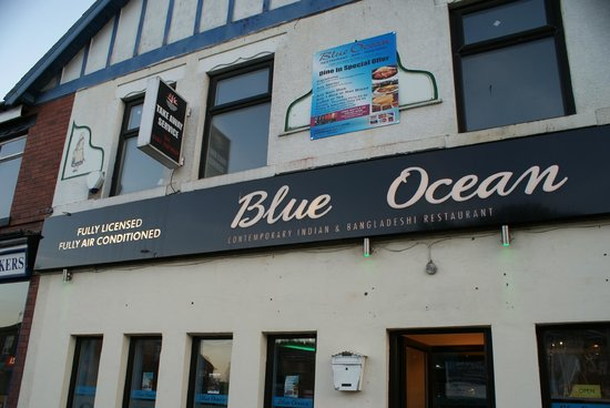 Blue Ocean Denton: sign