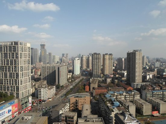 Fraser Suites Chengdu : View from our apartment
