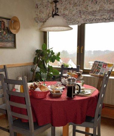 B&B bei Taferners: Frühstück mit Aussicht