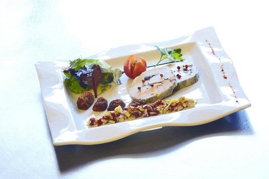 Kyriad Grenoble Nord - Le Fontanil : Foie gras truffé maison