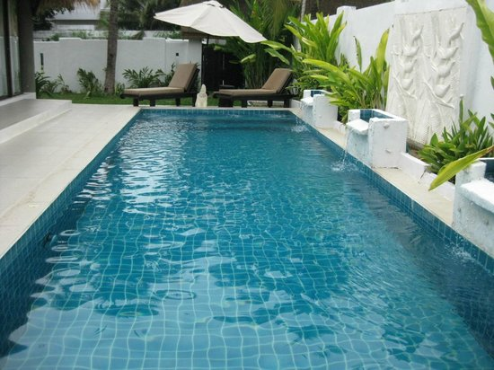 Dhevan Dara Resort & Spa Hotel : สระว่ายน้ำส่วนตัว
