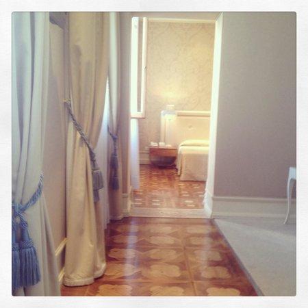 Hotel Ai Due Principi : Couloir et salon