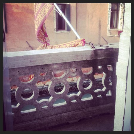 Hotel Ai Due Principi : Petite terrasse