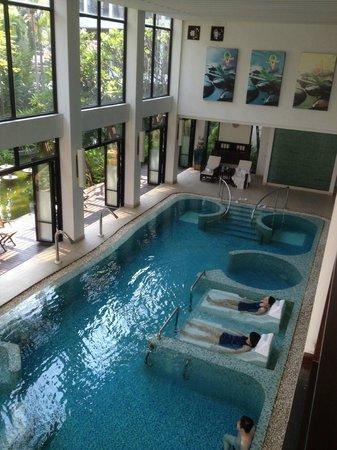 RarinJinda Wellness Spa Resort: hydro pool
