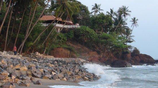 Seashell Haris Beach Home: Viewed from beach