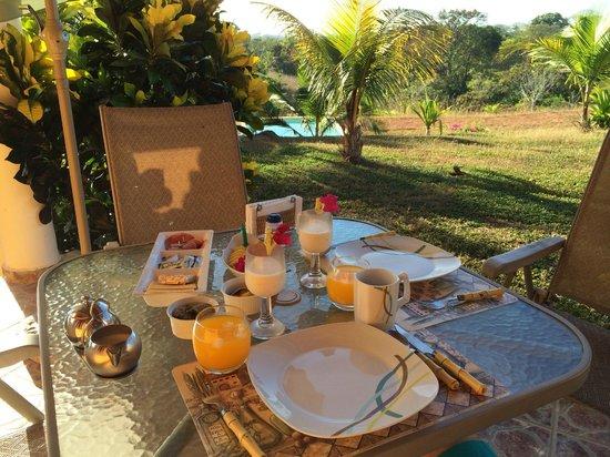 Finca Buena Vista: Reichhaltiges Frühstück