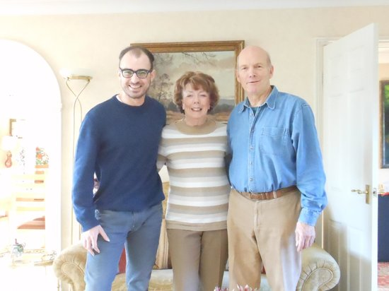 Rowan House: With lovely owners Michael and Jilly